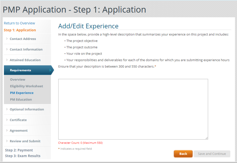 14- Application Experience 5