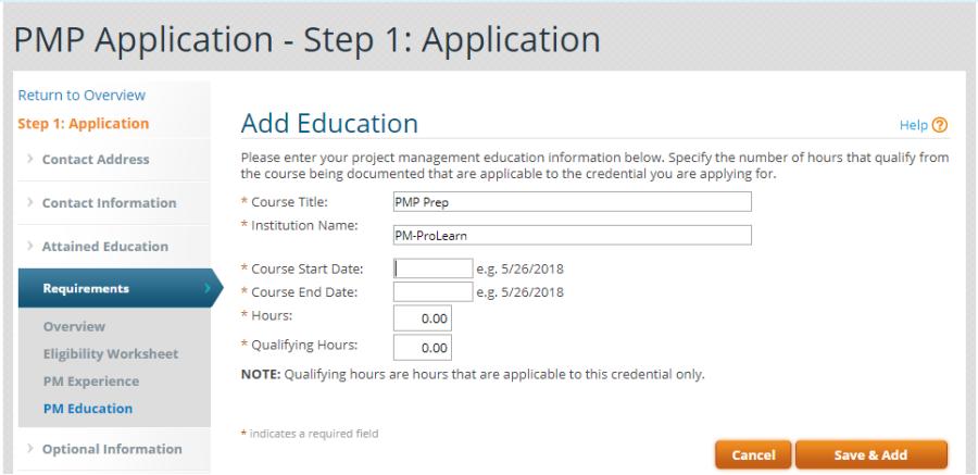 15- Application Education