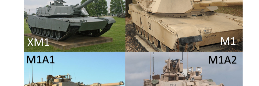 Evolution of the M1 Main Battle Tank XM1 to M1A2